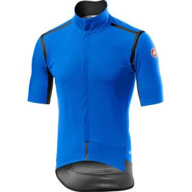Castelli Gabba Rain Or Shine SS Jersey Men drive blue